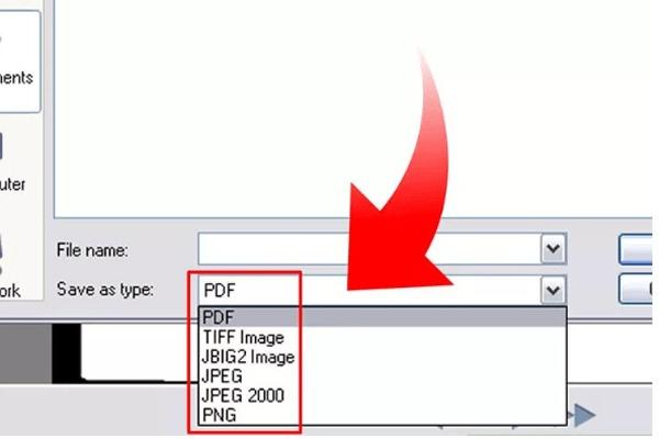 Chọn định dạng các file ảnh