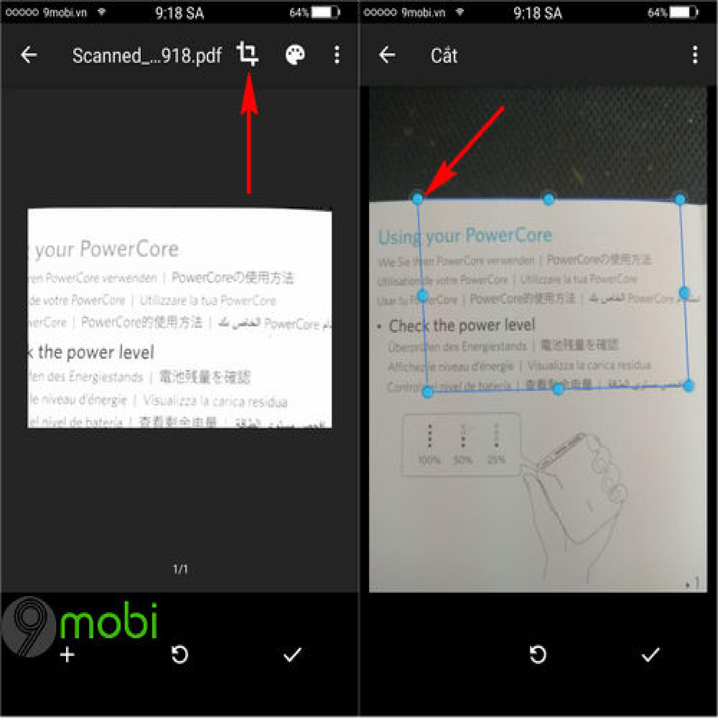 Cách scan ảnh bằng điện thoại Iphone