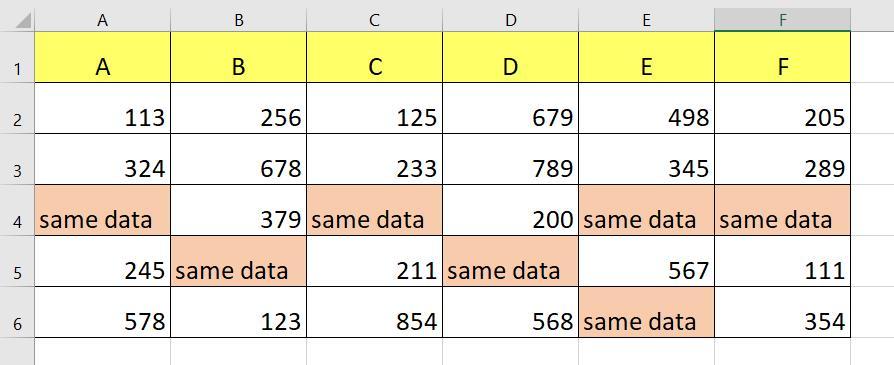 Công thức nhập dữ liệu vào nhiều ô cùng một lúc với công thức cho phép nhập nhanh dữ liệu