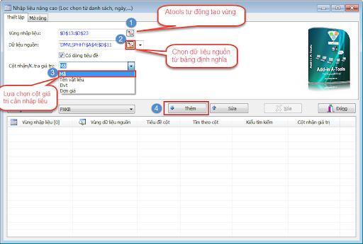 Nhập liệu nâng cao bằng phần mềm Add-in-a-tool - Phương pháp nhập liệutốt nhất dành cho doanh nghiệp