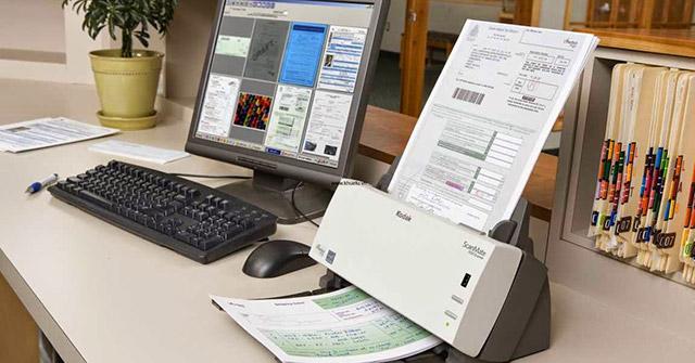 Cách scan tài liệu