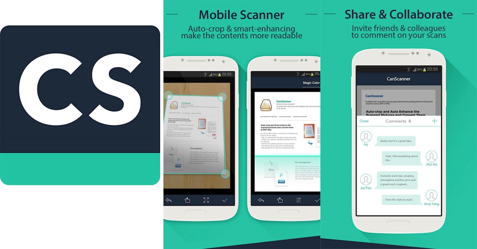 Sử dụng phần mềm scan trên điện thoại