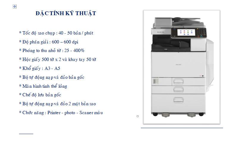 Cách scan trên máy photocopy ricoh 5002