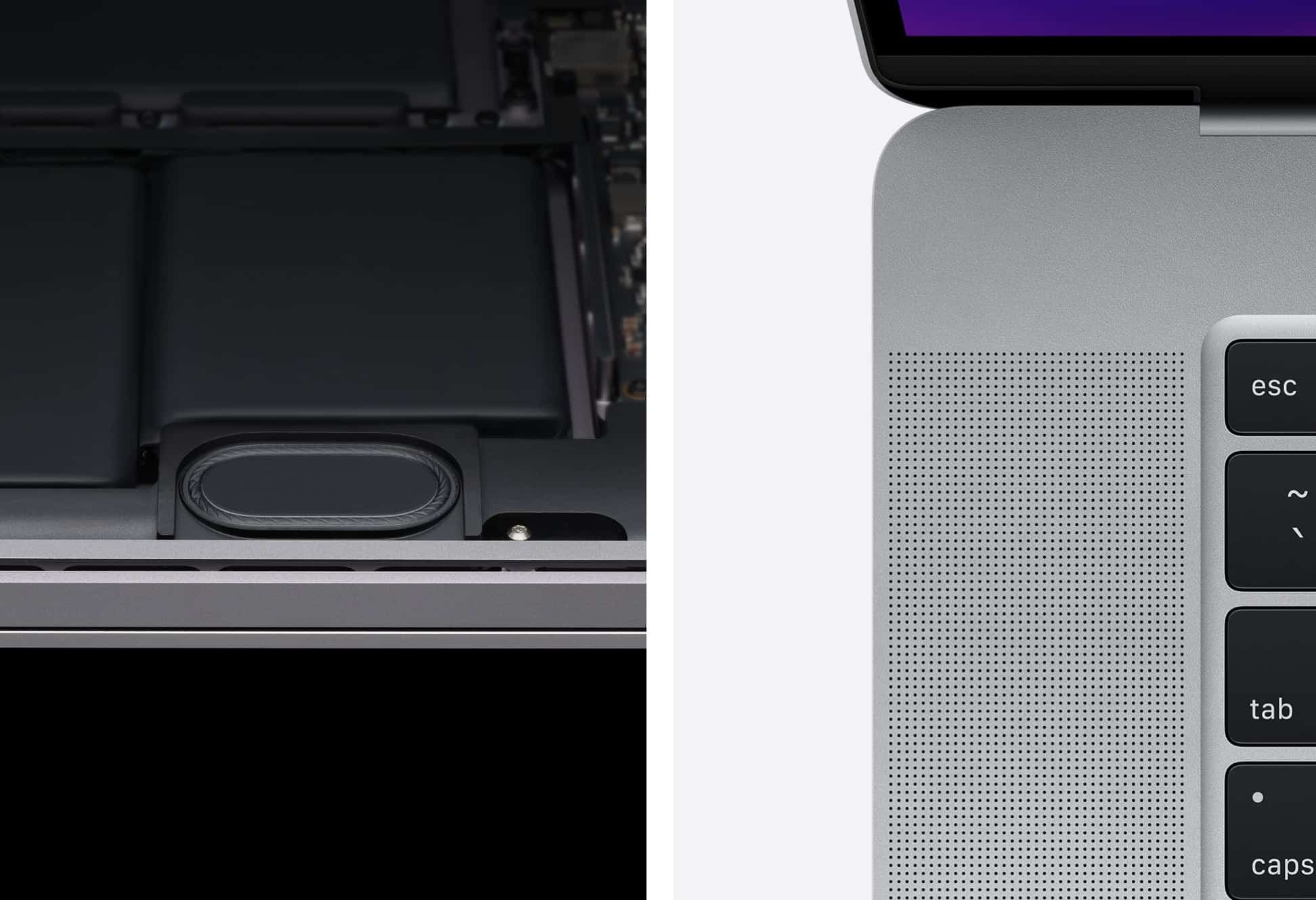 Dàn loa tiên tiến trên MacBook Pro 2019 16 inch