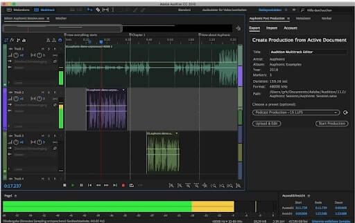 Chương trình Adobe Audition