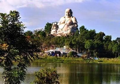 khu di tích lịch sử Núi Sam, thành phố Châu Đốc