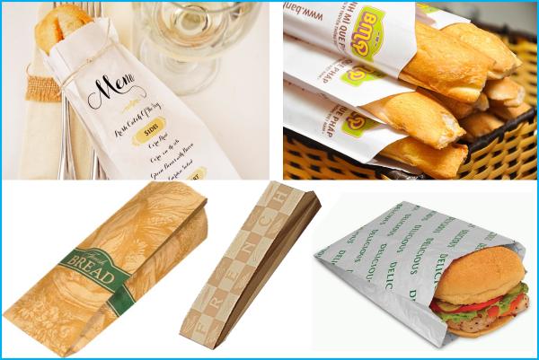 Bao bì giấy đựng bánh mì đẹp, tiện dụng, an toàn