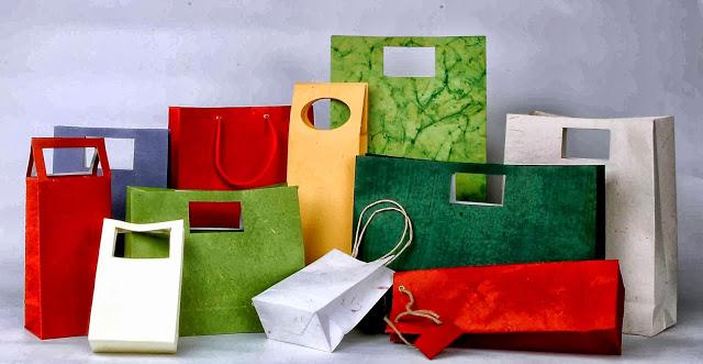 Bao bì túi giấy được sủ dụng phổ biến