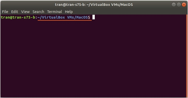 install macos virtualbox