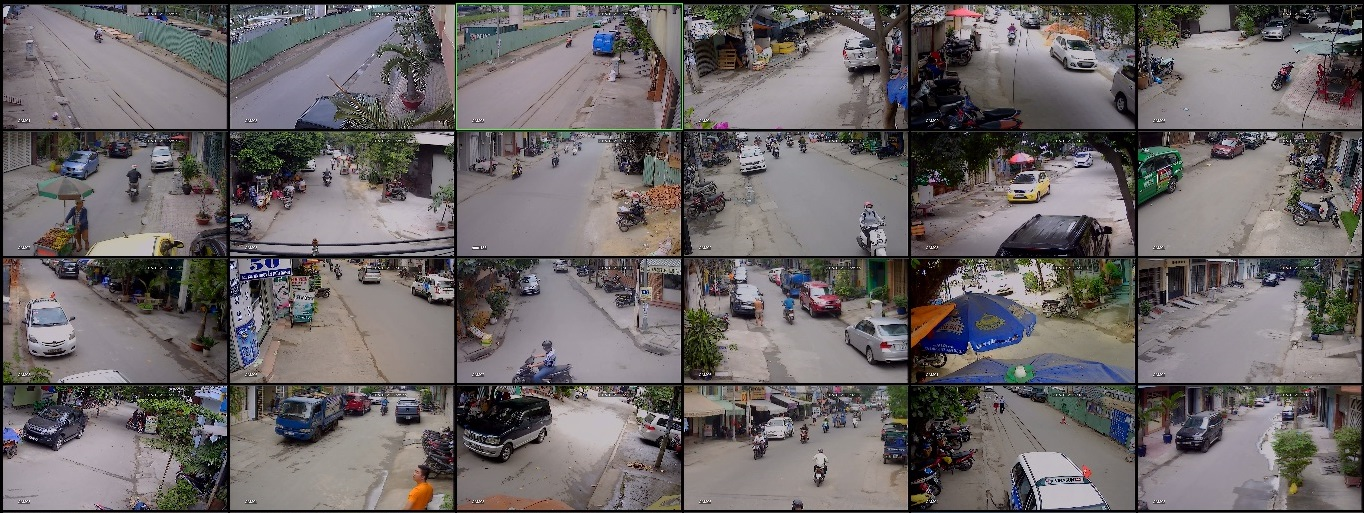 lắp đặt camera quan sát cho khu dân cư 1