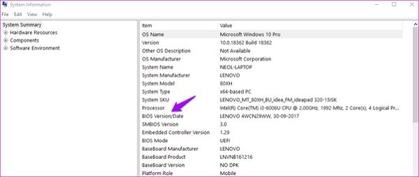 Cập nhật BIOS/UEFI để sửa lỗi laptop không nhận pin