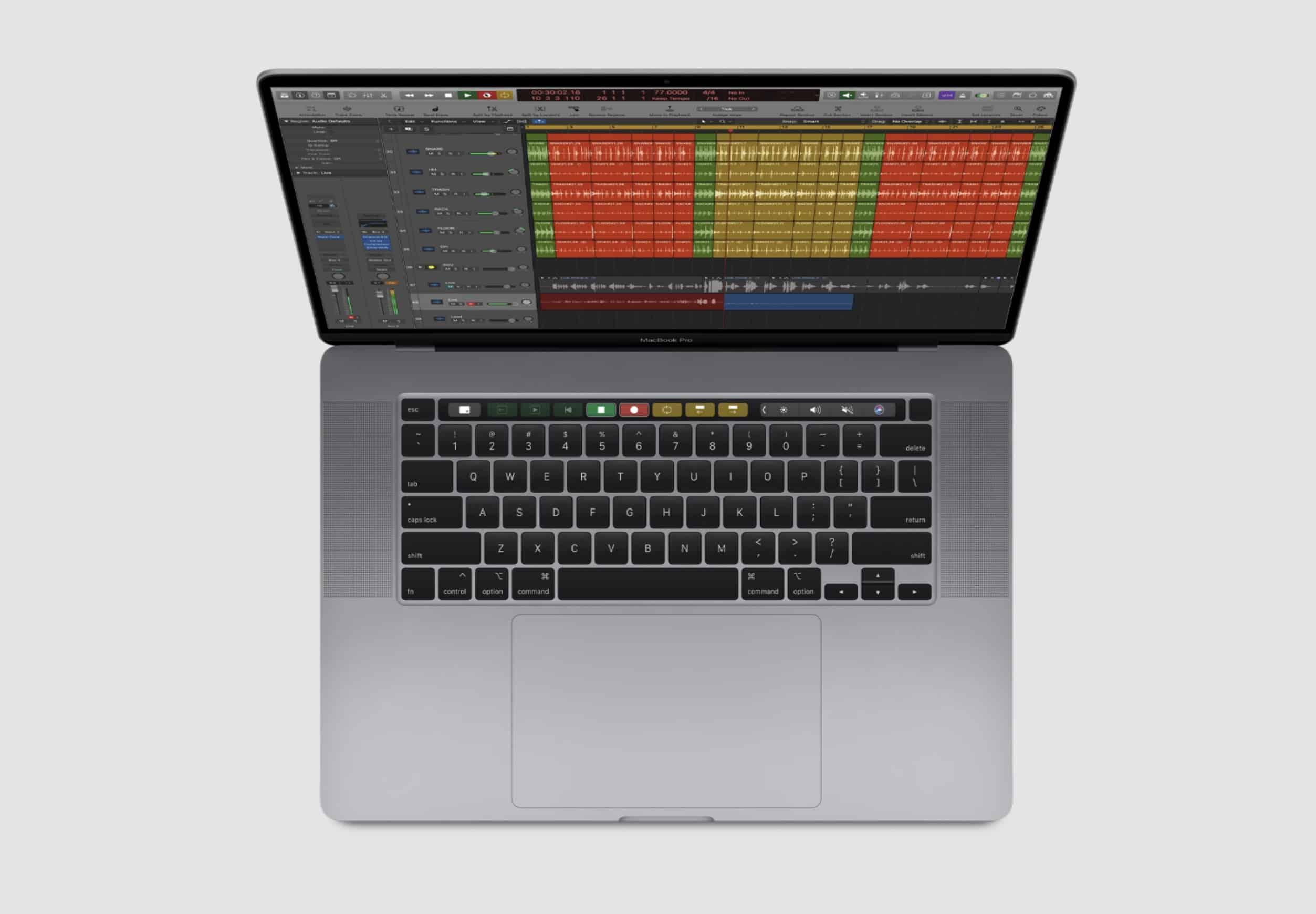Bàn Phím Magic Keyboard trên MacBook Pro 16 inch 2019