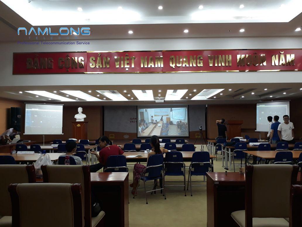 Thuê thiết bị họp trực tuyến tại Nam Long Telecom