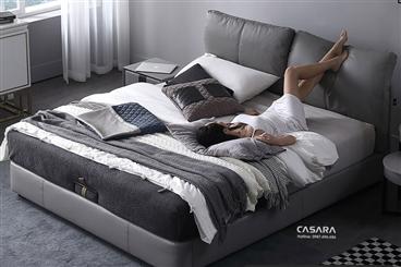 Giường đôi cao cấp và sang trọng N027