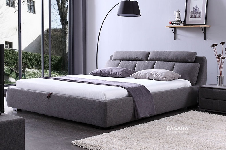 Vị trí kê đặt giường ngủ đẹp chuẩn thiết kế