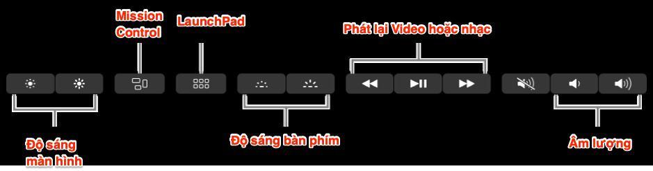Touch Bar - MacBook