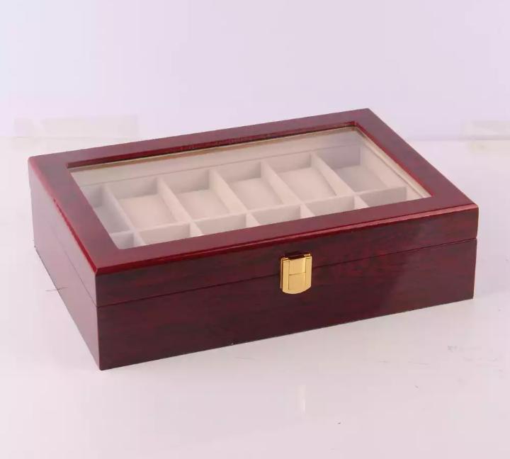 Hộp đựng đồng hồ bằng gỗ