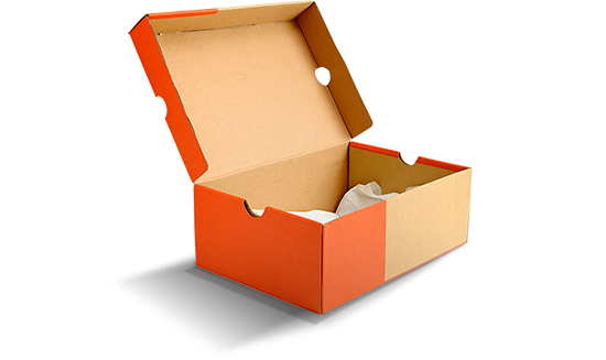 Hộp giấy đựng giày liền khối