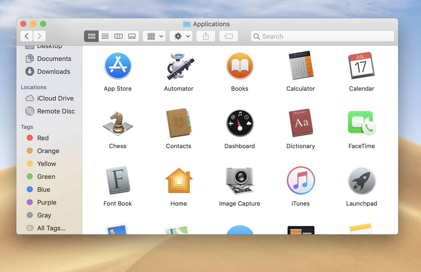 Finder Tags - MacOs