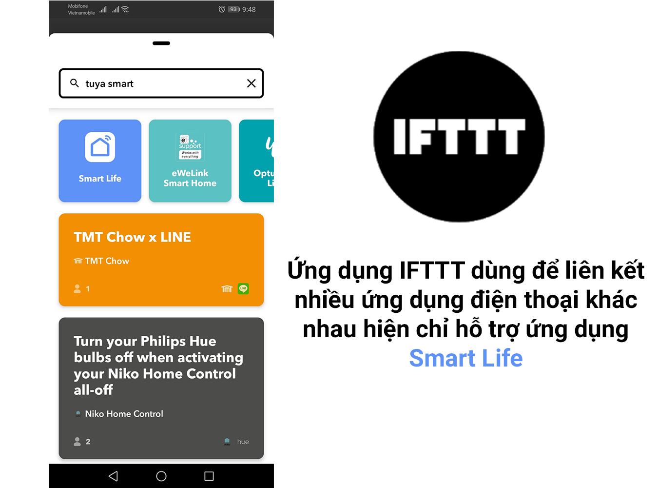 Ứng dụng Tuya Smart và Smart Life có gì khác nhau và giống nhau?