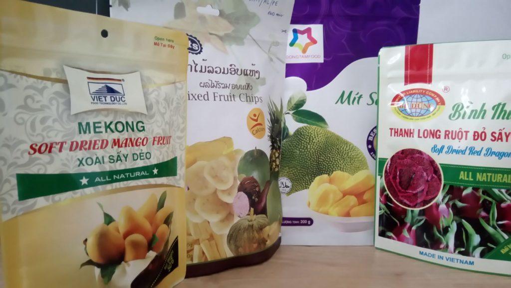 Bao bì màng nhôm dùng để đựng trái cây sấy