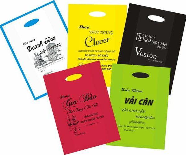 In ấn bao bì nilon phục vụ kinh doanh hàng hóa