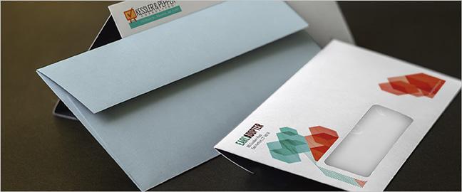 In bao bì thư tín giúp quảng bá hình ảnh doanh nghiệp