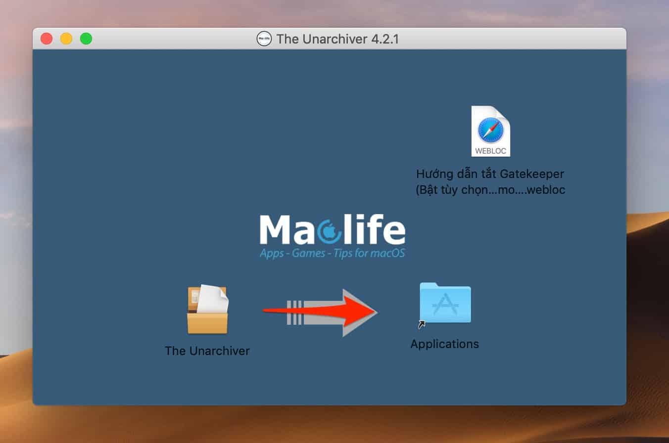 laptopvang-unarchiver-hương-dan-giai-nen-file-tren-macbook
