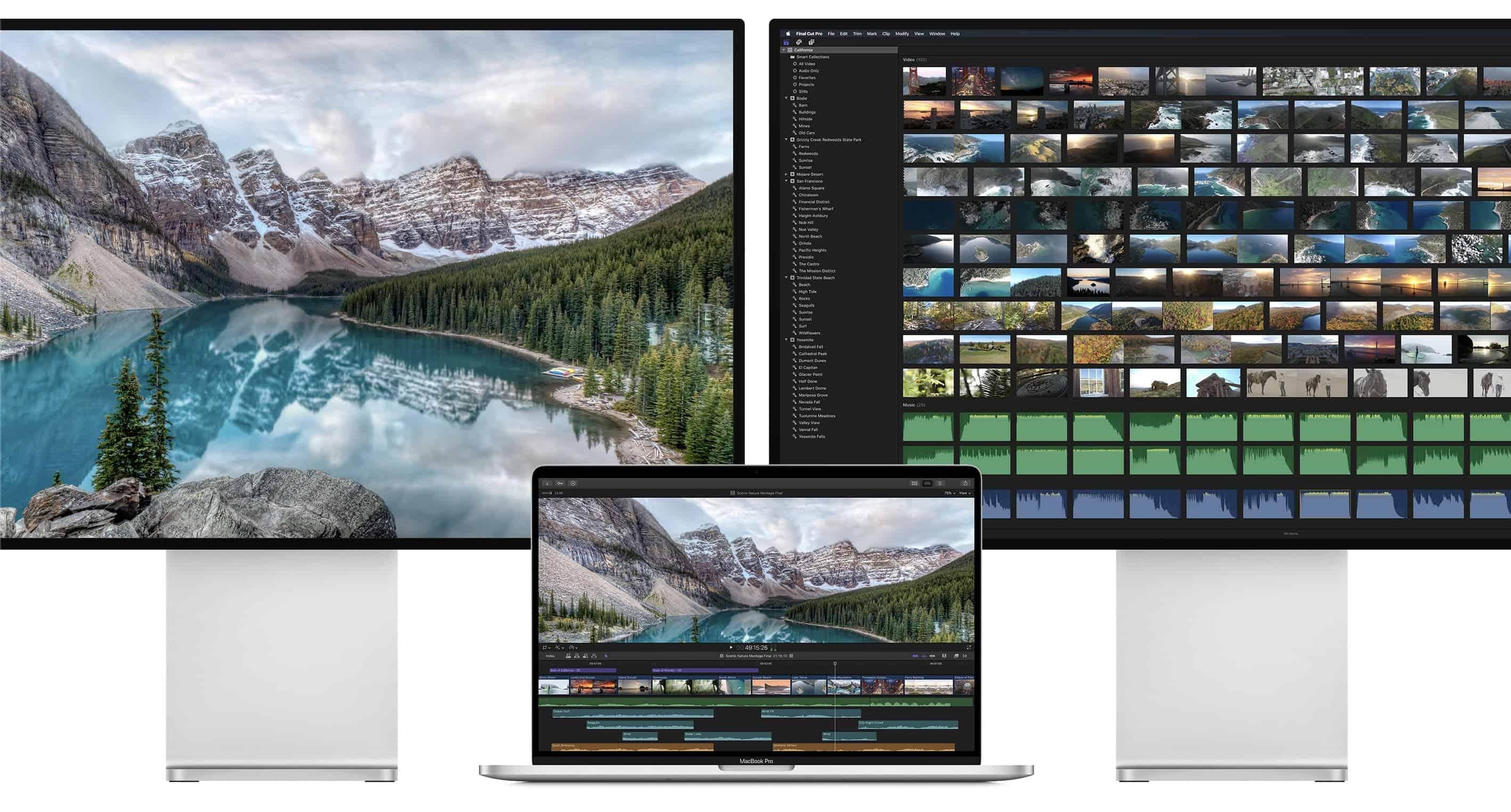 Laptopvang.com Cổng Thunderbolt 3 trên MacBook Pro 16 inch có thể xuất ra 2 màn HDR 6K
