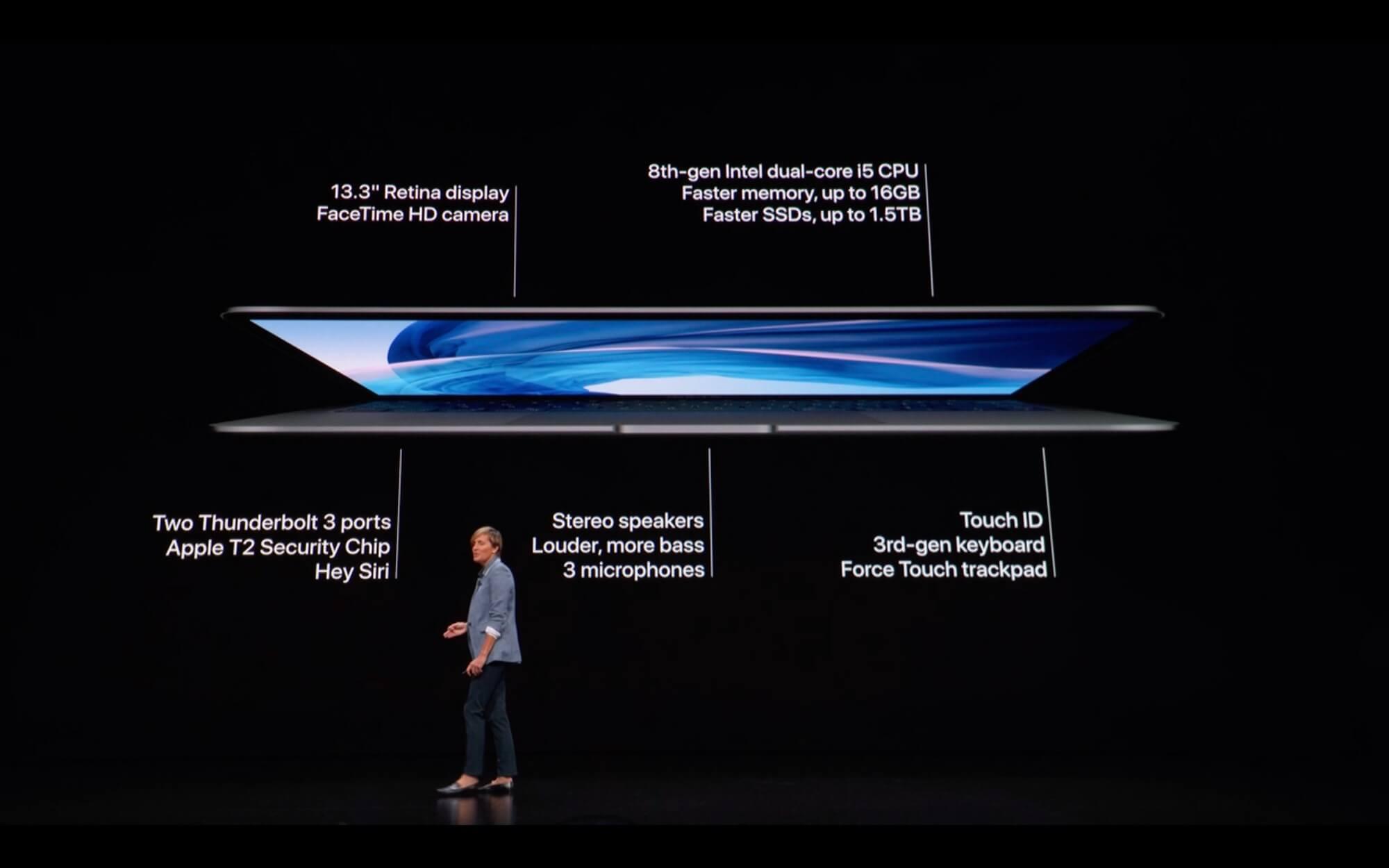 macbook air 2018 đánh giá