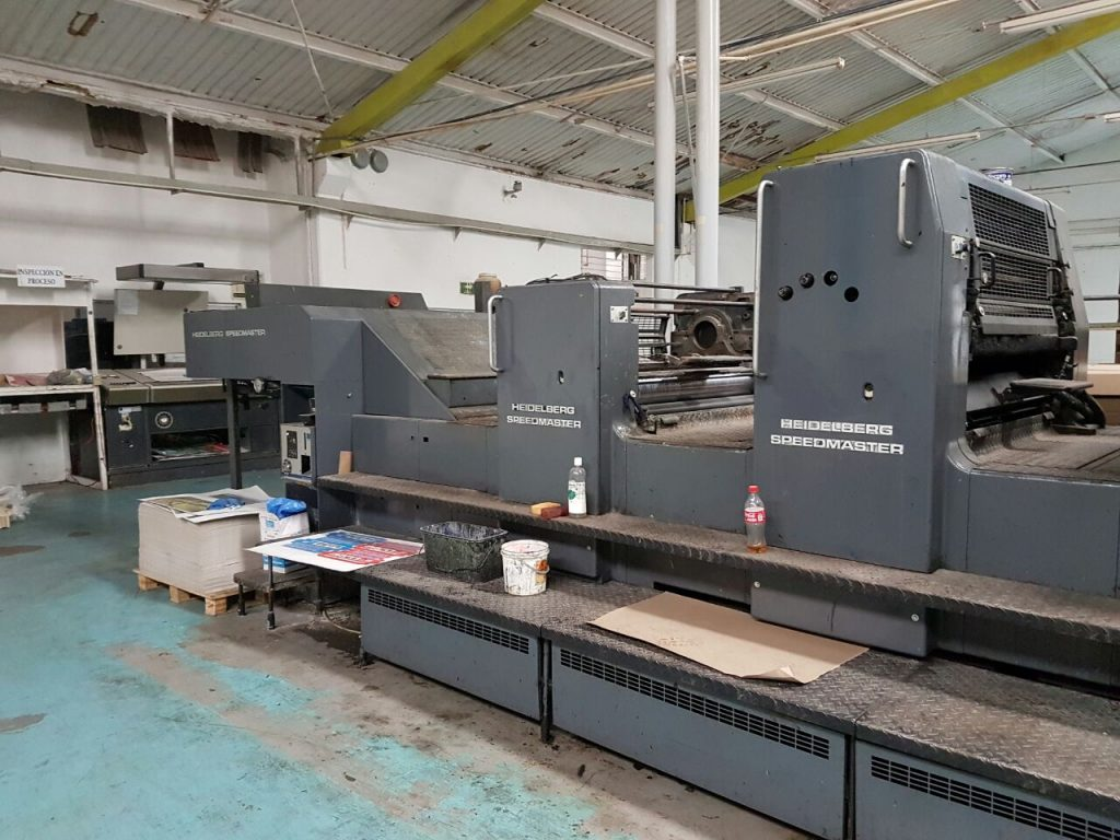 Máy in Offset HEIDELBERG SPEEDMASTER CD 102-6 + L