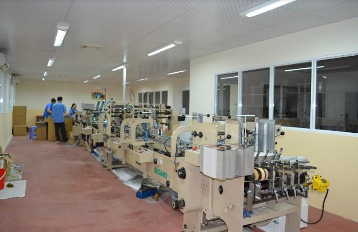 Một góc xưởng in ấn bao bì In Số 7
