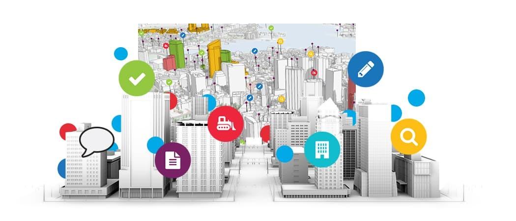 Phần mềm Smart city được ứng dụng cho các đô thị thông minh