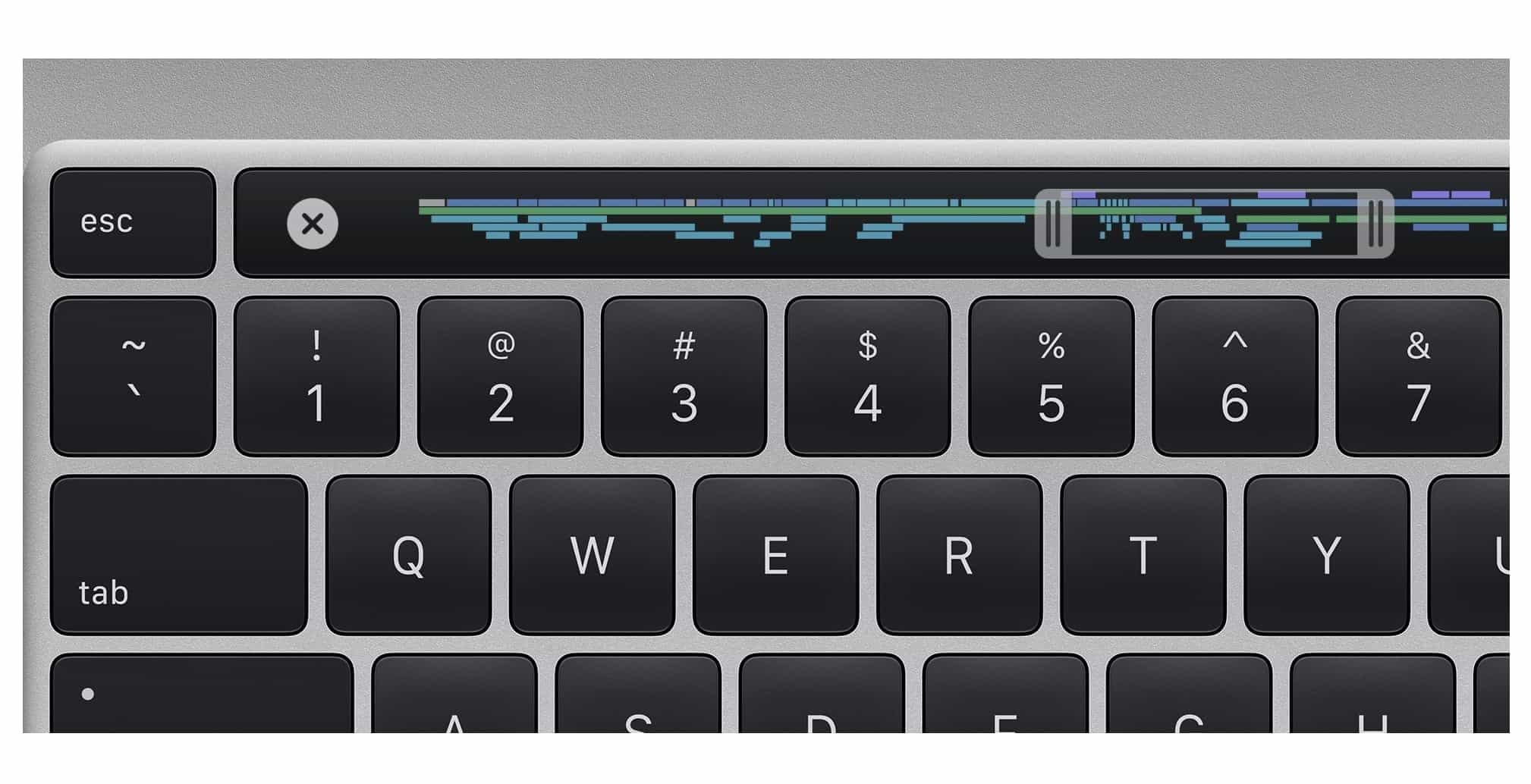 Touch Bar MacBook Pro 2019 16 inch