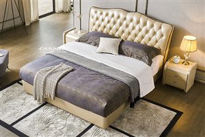 Quy trình sản xuất giường tân cổ điển, địa chỉ nhận làm giường