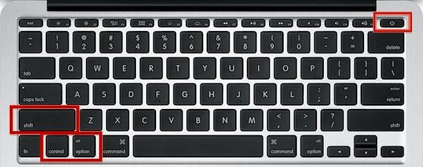 Reset SMC cho MacBook dùng chip T2