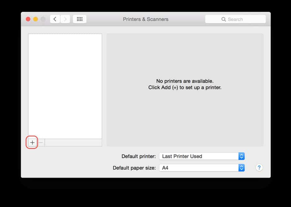 Sử dụng máy In trên MacBook