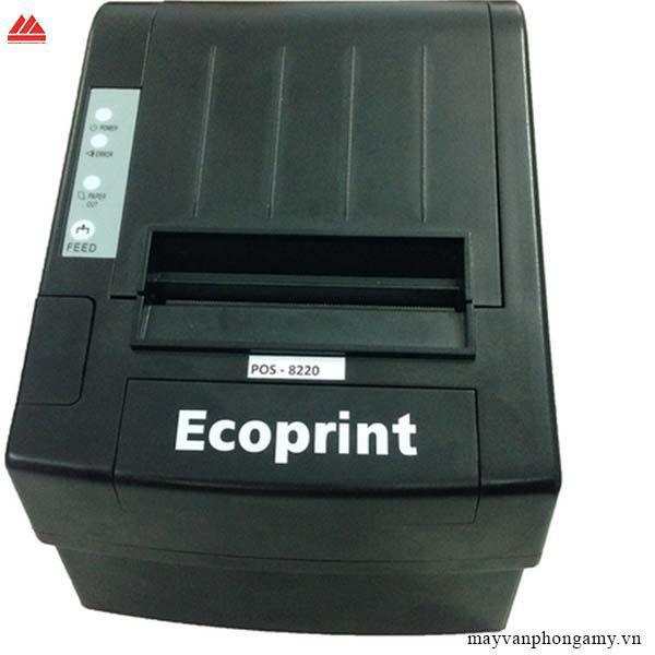 Máy in nhiệt Ecoprint Pos - 8220khổ giấy K80 (80mm) Lan + USB
